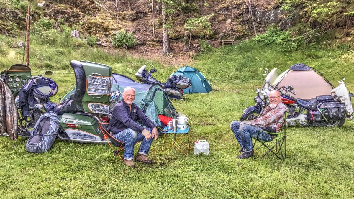 Campingplatz Skogtun Motel und Camping in Bergen - Norwegen